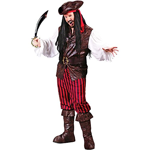 Men's High Seas Buccaneer Adult Costume - One Size