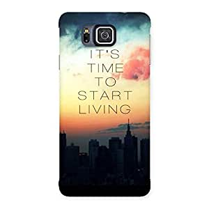 Its Start Living Back Case Cover for Galaxy Alpha
