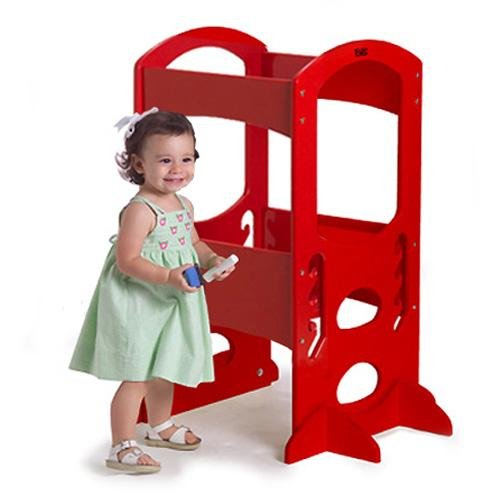 Great Deal! Little Partners LP00405 Learning Tower Kids Step Stool