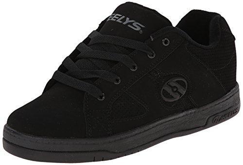 Heelys Split Skate Shoe (Toddler/Little Kid/Big Kid), Black/Black, 7 M Us Big Kid front-1067286