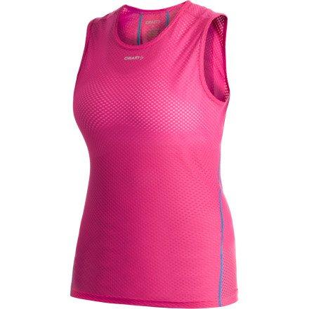 Buy Low Price Craft Women's Cool Mesh Superlight Sleeveless Top (B008V6VBP8)