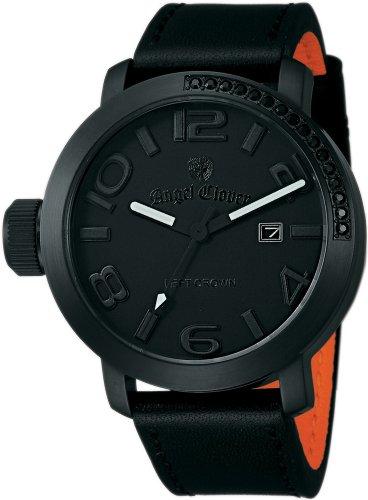 Angel Clover (エンジェルクローバー) 腕時計 LEFT CROWN レフトクラウン LC45BBB-BK メンズ