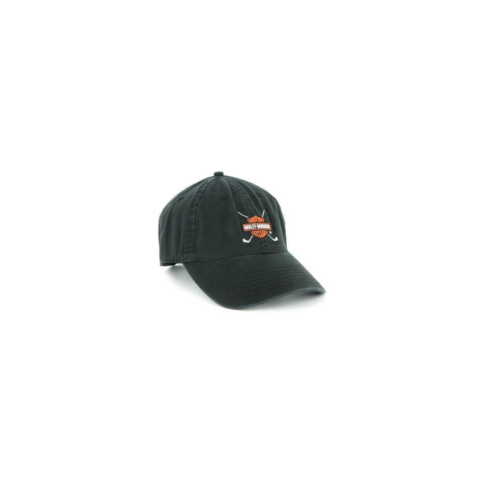 Harley Davidson Golf Cap   Black