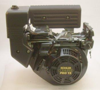 """Cs12Stg-941516-Gr 12Hp Horizontal 4-11/32"""" Tapered Shaft, Recoil & Electric Start, Muffler, Keyswitch Kohler Engine"""