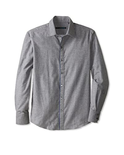 Zachary Prell Men's Price Long Sleeve Solid Shirt
