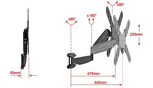 How to buy  Sandstrom SFMGM14 Easy Glide Cantilever TV Wall Mount / Bracket