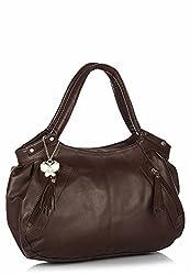 Butterflies Women's Handbag (Brown) (BNS 0226 BN)