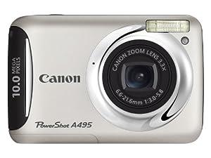 Canon PowerShot A495 Appareil photo numérique 10 Mpix Argent