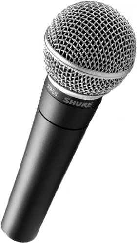 Shure SM58  Cable Cardioid Microphone  Cable