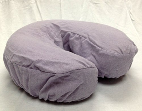 Deluxe Flannel Massage Face Rest Cover Cozies, Includes 4pcs (Lavender (Lilac)) (Health Cover compare prices)