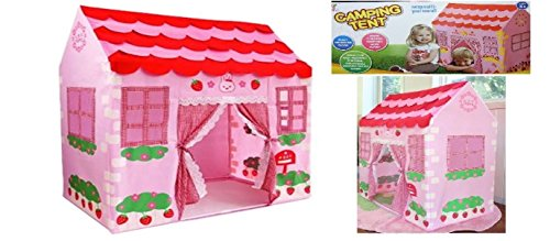 childrens-pink-princess-play-wendy-house-outdoor-garden-tent-kids-toy