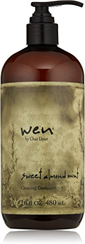 WEN by Chaz Dean Sweet Almond Mint Cleansing Conditioner, 16 fl. oz.