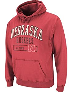 Nebraska Cornhuskers Mens Hoodie-Hooded Sweatshirt by Colosseum