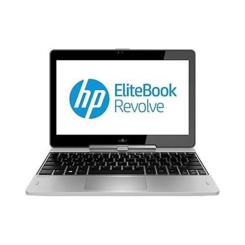 Hp Elitebook Revolve 810 G2 F7W46Ut 11.6 Led Touchscreen Tablet Pc Intel I5-4300U 1.90 Ghz 4Gb Ddr3 128Gb Ssd Intel Hd Graphics 4400 Windows 7 Professional 64-Bit