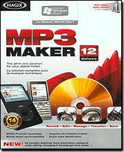 Magix MP3 Maker 12 Bilingual