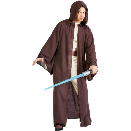 Rubies Costumes Mens Star Wars - Jedi Robe Deluxe Adult Costume