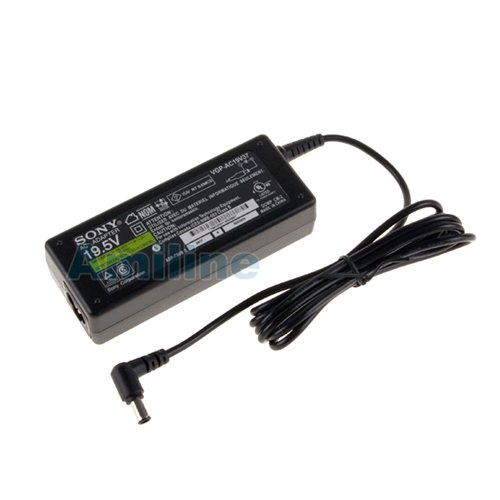 418Fxo9HNLL SONY VAIO 19.5V 3.9A 76W AC Adapter Power Cord For SONY VAIO Laptops,W/3ft Power Cord