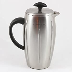 Starbucks Special Coffee Maker : Starbucks Barista Stainless Steel Thermal Coffee Press 8-Cup: Amazon.co.uk: Kitchen & Home