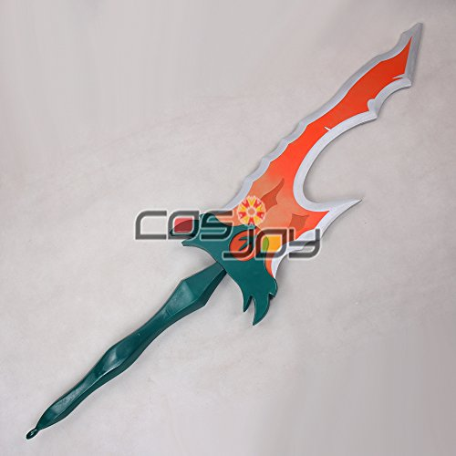 Cosjoy 59″ League of Legends Battle Bunny Riven Big Sword PVC Cosplay Prop