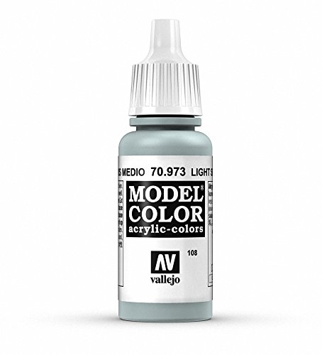 Vallejo Light Sea Grey Paint, 17ml