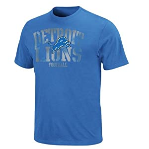 NFL Detroit Lions Fantasy Leader T-Shirt - Light Blue by Nutmeg