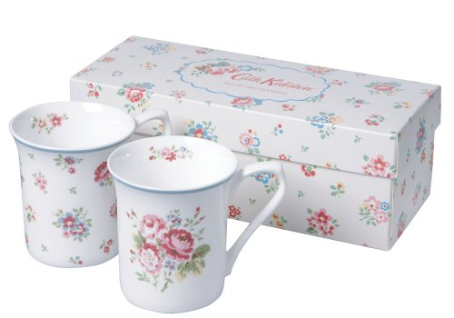 Churchill China Cath Kidston Mug Set, Floral Tea Design, Giftboxed