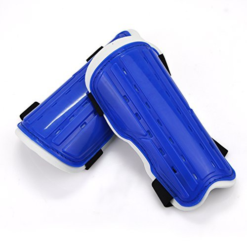 Elemart Youth Soccer Shin Pad Shin Guards - 1 Pair (Blue) (Shin Guards For Kids compare prices)