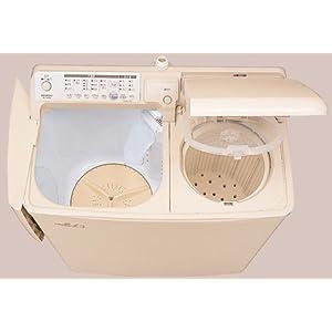 HITACHI 青空 自動2槽式洗濯機 パインベージュ PA-T45K5-CP