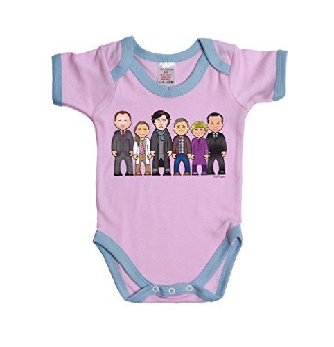 Vipwees Baker Street Gang Boy/Girl Baby Grow Vest