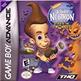 Jimmy Neutron boy genius Attack of the Twonkies - Game Boy Advance - US