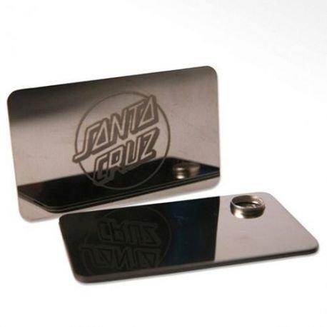CLASSIC DOT CREDIT CARD TUBO SANTA CRUZ Aluminium taglia unica