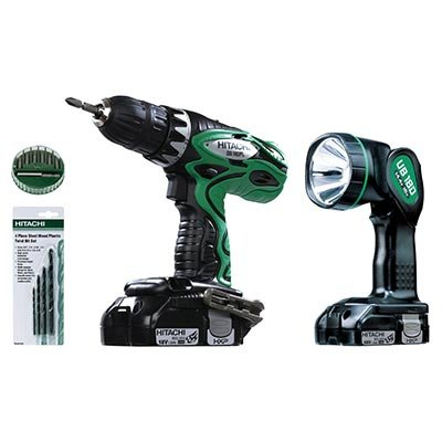 Hitachi Lithium Ion Driver Drill Set