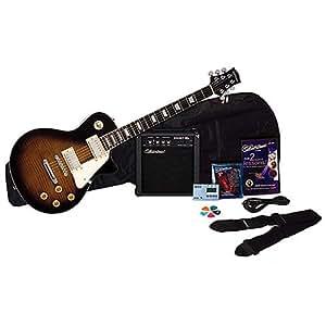 Silvertone SSL3 Electric Guitar Pack, Vintage Sunburst