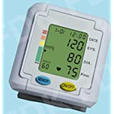 EastShore B11WV Wrist Blood Pressure Monitor With English/Spanish Talking Function , 3 Color Backlight WHO Alert...