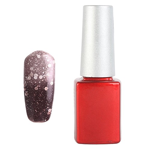 Yesurprise Temperature Change Color Soak Off Nail Art Uv Gel Polish Glitters Diy Decoration 014