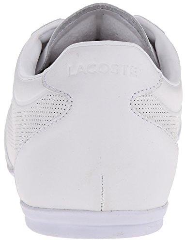 Lacoste Men's Mokara 116 1 Cam Fashion Sneaker Fashion Sneaker, White, 10 M US
