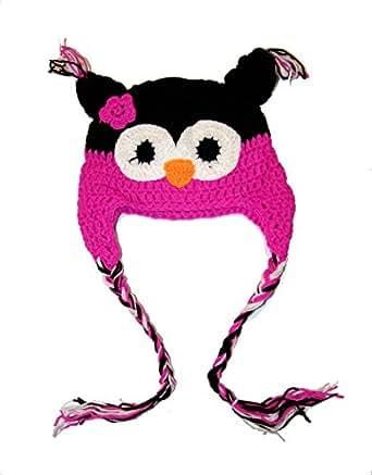 Zarlena Eulen Strickmütze Eule Owl Hat
