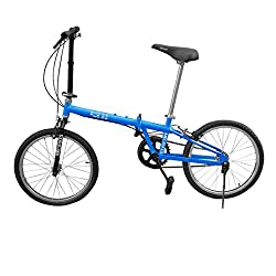 MEC BIKES - Ride 3.0 The Folding Bike - Blue Basic Model