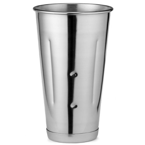 Stainless Steel Malt Cup 30oz | Milkshake Cup, Smoothie Cup, Mixing Tin by TableCraft
