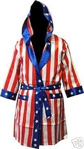 Buy Rocky Balboa Apollo Movie Boxing American Flag robe by Rocky