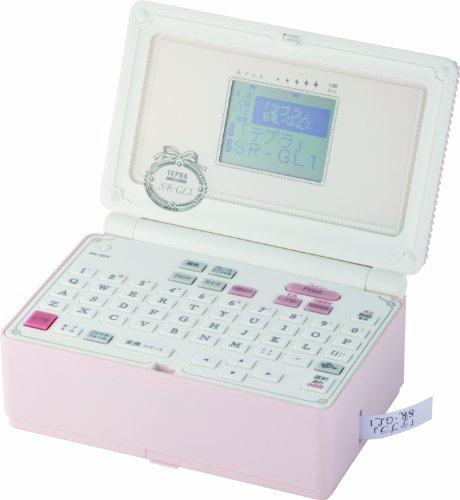 ラベルライター「テプラ」PRO本体 シェルピンク SR-GL1
