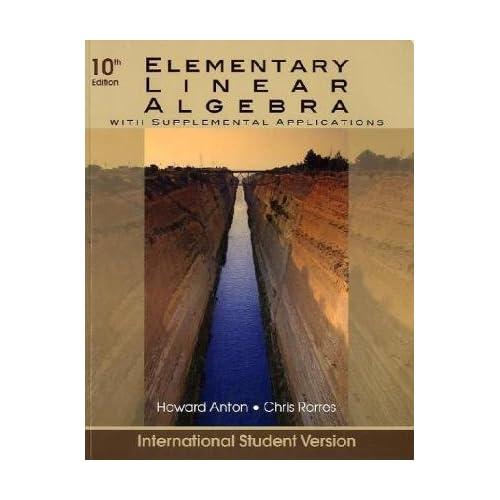 elementary linear algebra applications version 11th edition solution manual