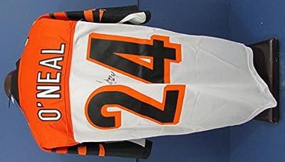 Deltha O'Neal Cincinnati Bengals Signed/Autographed Jersey 126657