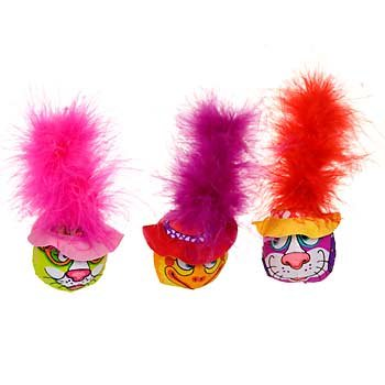 Kitty Hoots Hatheads Catnip Cat Toys