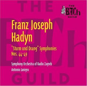 Haydn:  the Sturm Und Drang Sy