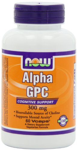 Now Foods Alpha Gpc 300mg, Veg-Capsules, 60-Count
