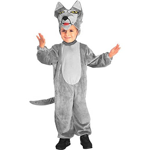 Toddler Big Bad Wolf Halloween Costume (Size: 2T-4T)