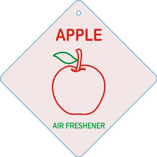 Apple Edelcrafts Car  Home Apple Air Freshener