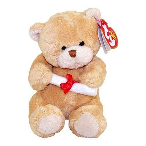 Ty Beanie Babies Scholar - Graduation Bear (No Hat) - 1