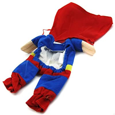 Alfie Pet by Petoga Couture - Superhero Costume Superman